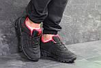 Мужские кроссовки Merrell (черно-красные) весна-осень, фото 7