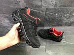 Мужские кроссовки Merrell (черно-красные) весна-осень, фото 6