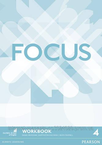 Focus BrE Level 4 Workbook ISBN: 9781447998396, фото 2