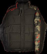 Мужская зимняя куртка Reebok на синтепоновом утеплителе.