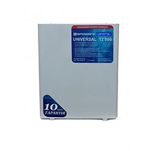 Стабилизатор напряжения 12 кВт однофазный  Укртехнология НСН-12000 Universal (HV)