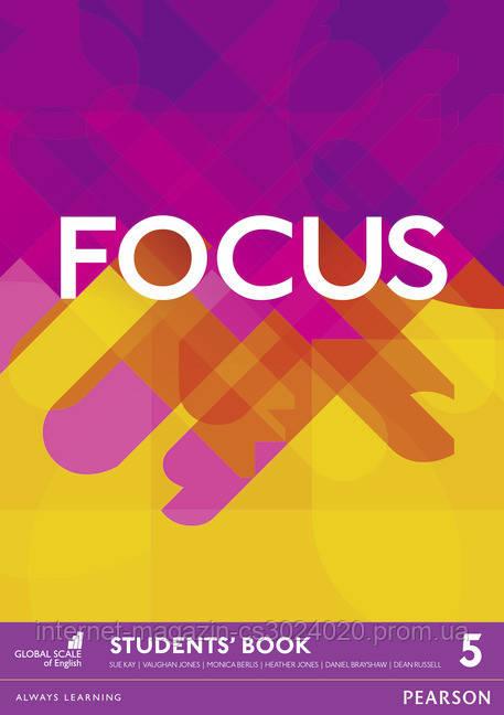 Focus BrE Level 5 Student's Book ISBN: 9781447998532