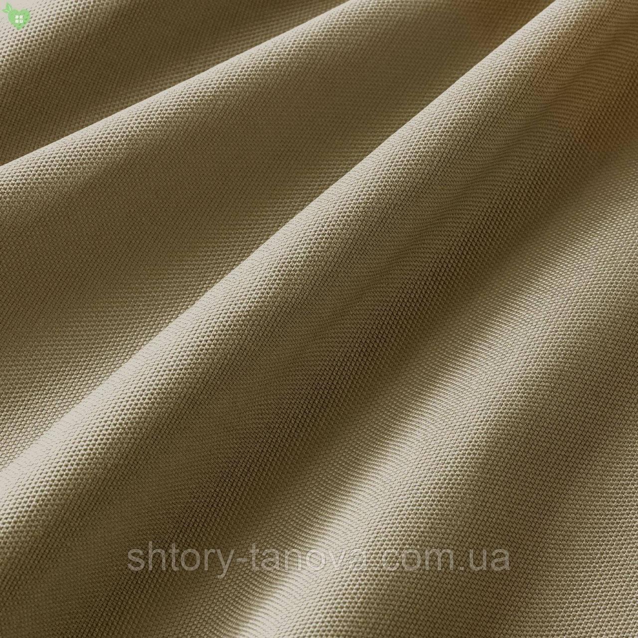 Уличная ткань фактурная коричневого цвета для садовой качели