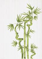 Декор Ретро Бамбук зеленый 1