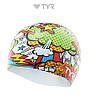 Силиконовая шапочка для плавания TYR Comic Action