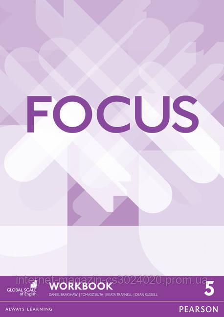 Focus BrE Level 5 Workbook ISBN: 9781447998617