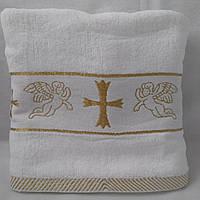 Крыжма для крещения махровая Золото