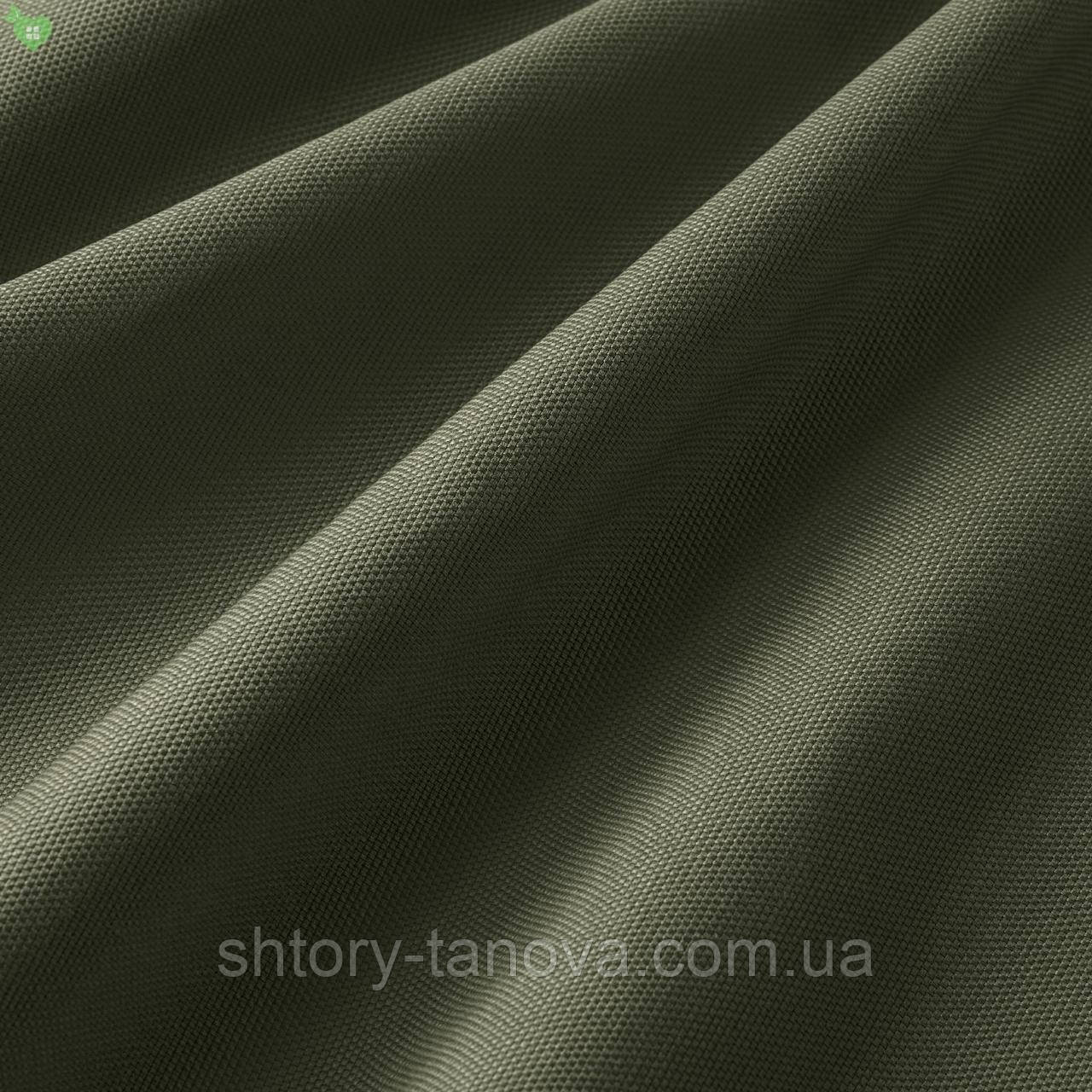 Вулична фактурна тканина темно-сірого кольору з тефлоновим просоченням