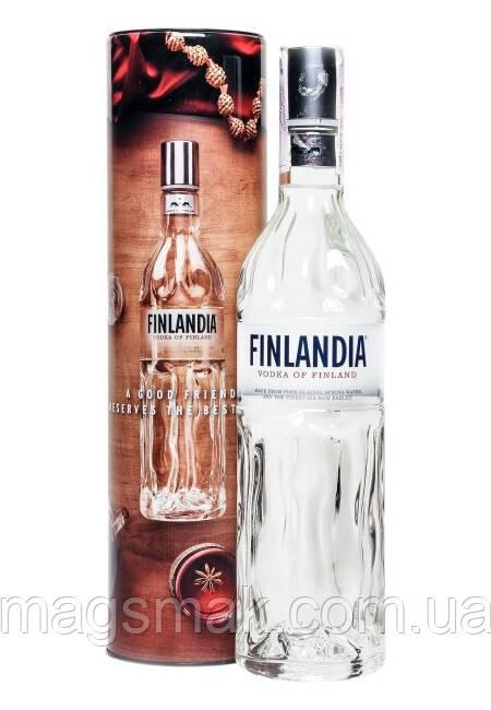Водка Finlandia 0.7 л в тубусе