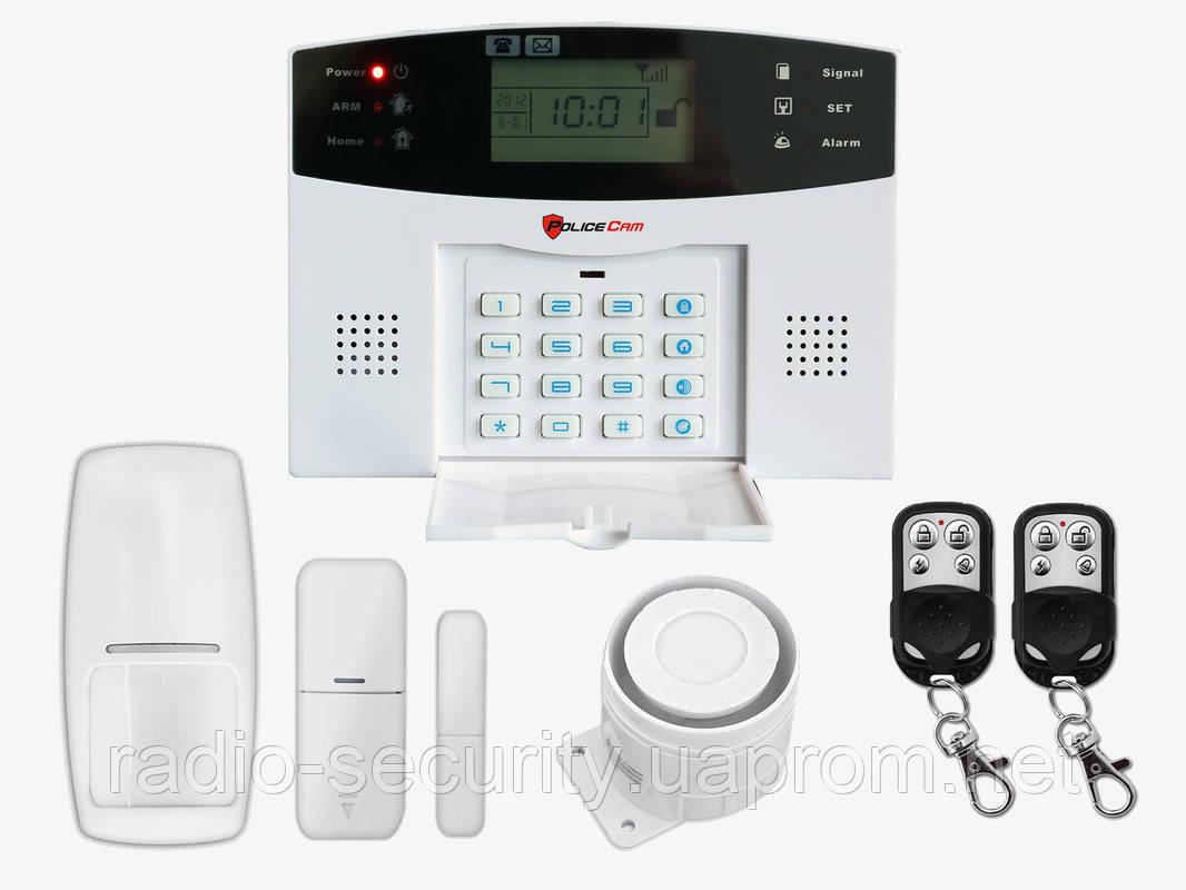 Комплект беспроводной сигнализации PoliceCam GSM 30A Prof