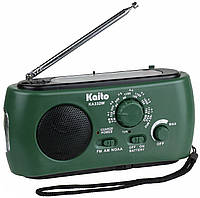 Kaito KA332W радио солнечное зарядное динамо фонарь