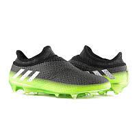 Бутсы пластик Бутсы Adidas Messi 16+PureAgility FG AG S76489(00-03 7d68ae3b8d574