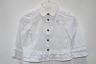 Рубашка белая 6-9 мес (Д)