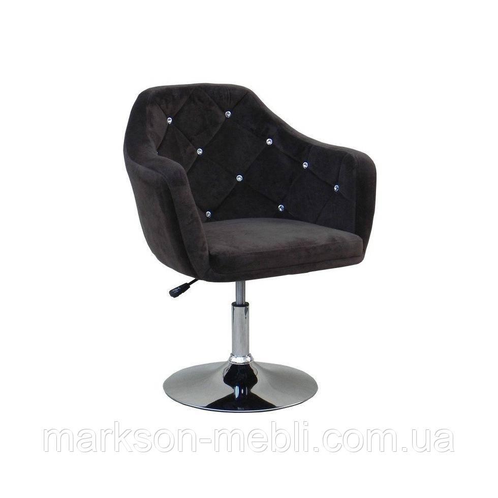 Парикмахерское кресло HC830 коричневое
