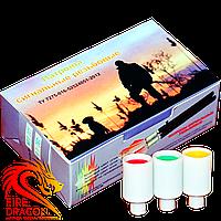 Сигнал охотника № 3 15 мм, в упаковке 15 шт., цвет: красный, зеленый, желтый