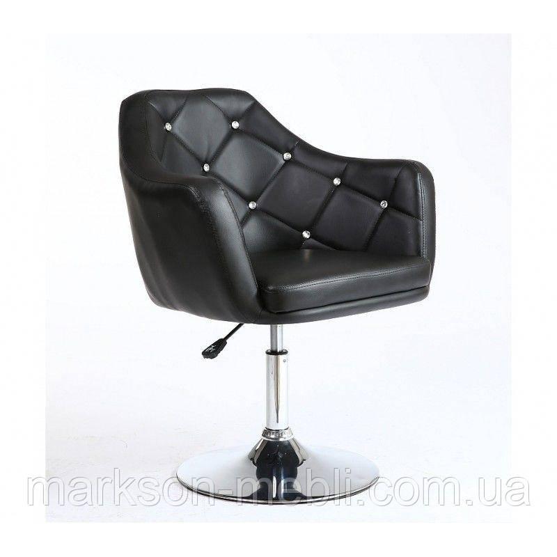 Парикмахерское кресло HC830 черное