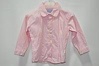 Рубашка розовая 6-9 мес (Д)