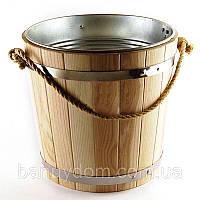 Велро дубовое, вставка из оцинковки , 15 л