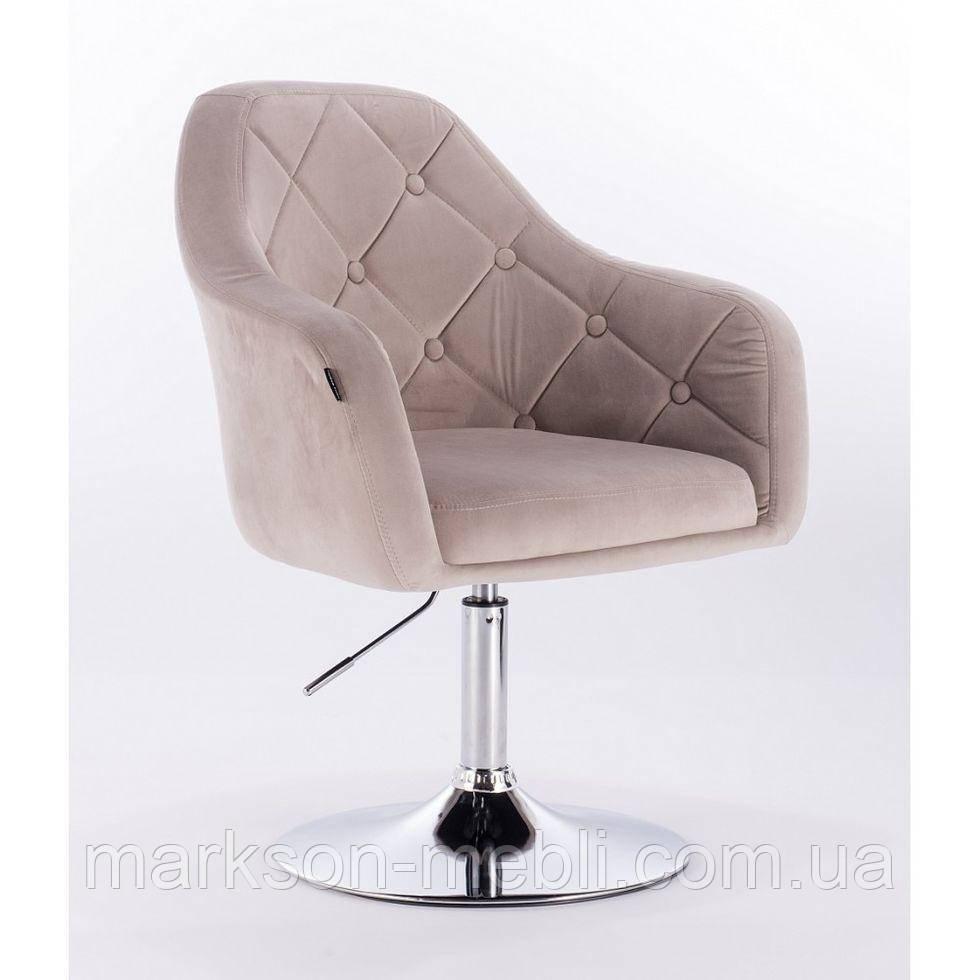 Перукарське крісло HROVE FORM HR831 латте