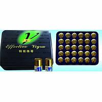 """Капсули для потенції """"Effective vigra X5"""" капсули для супер потенції велика упаковка (30 шт)."""