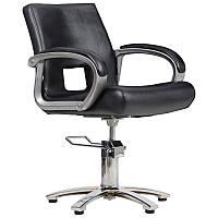 Парикмахерское кресло Milano черное, фото 1