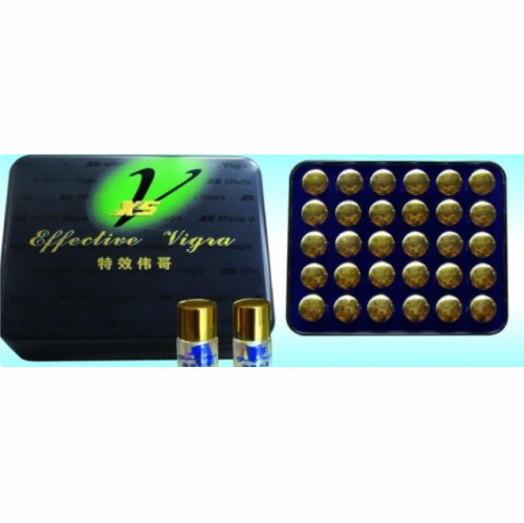 """""""Effective vigra X5"""" капсулы пробники поштучно для супер потенции (1 шт)."""