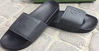 Сабо черные мужские кожаные от производителя модель ПП3