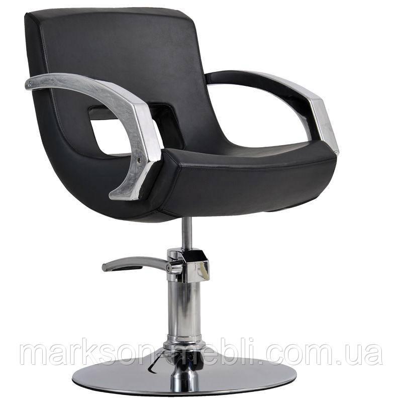 Парикмахерское кресло Roma черный