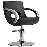 Парикмахерское кресло Roma черный, фото 1