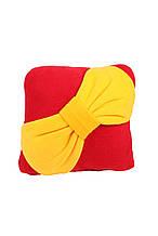 Подушка декоративна Бант червона