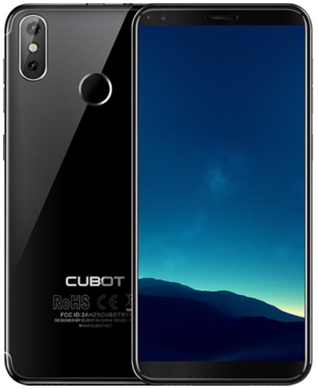 "Смартфон Cubot R11 2/16Gb Black, 13+2/8Мп, 5.5"" IPS, 2SIM, 3G, 2800мАh, 4 ядра"