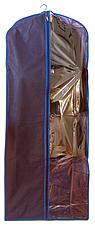 Чехол\кофр для одежды 60*150 см (синий), фото 3