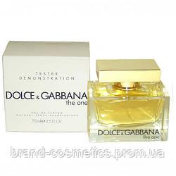 Dolce & Gabbana The One 75 мл TESTER женский