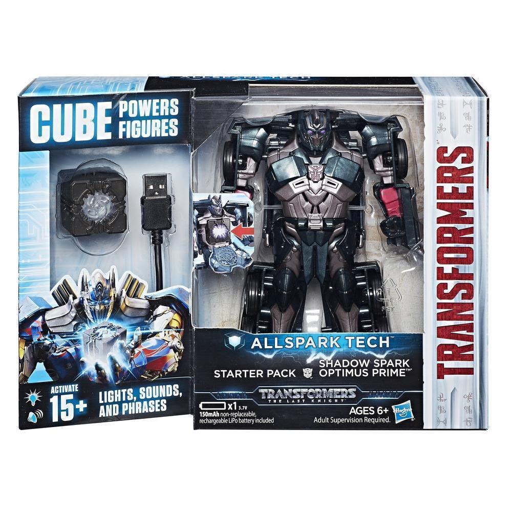 Інтерактивний трансформер Оптімус Прайм 15СМ - Optimus Prime Allspark Tech, Shadow Spark, Starter Pack, Hasbro