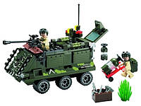 "814 ""Бронетранспортер"" Конструктор BRICK 167 деталей."