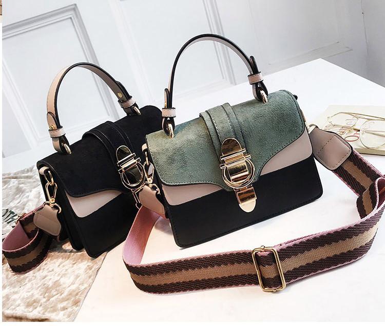 Комбинированная женская сумка Milania
