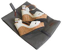 Объемный пыльник для обуви ORGANIZE (серый), фото 3