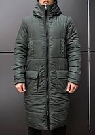 """Мужское фирменное пальто Pobedov jacket """"Tank"""" Khaki"""