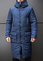 "Мужское фирменное пальто Pobedov jacket ""Tank"" Navy"