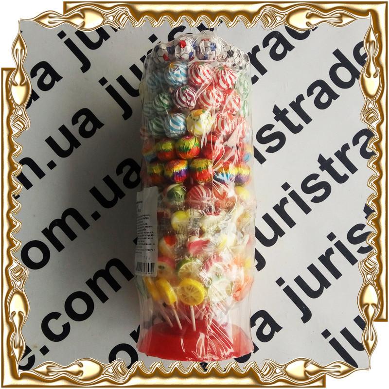 Конфеты на палочке Roks (РОКС) 132 шт.*12 гр. Ассорти на витринке
