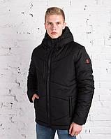 "Мужская фирменная куртка Pobedov Winter Jacket ""Vernyy put'"" All Black"
