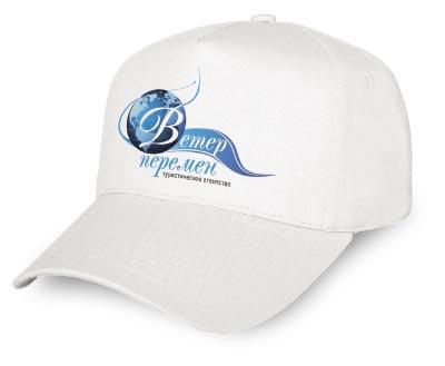 Нанесение логотипа на бейсболки