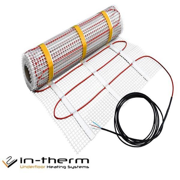 Двужильный нагревательный мат IN-THERM ECO (Чехия). Шаг 10 см.
