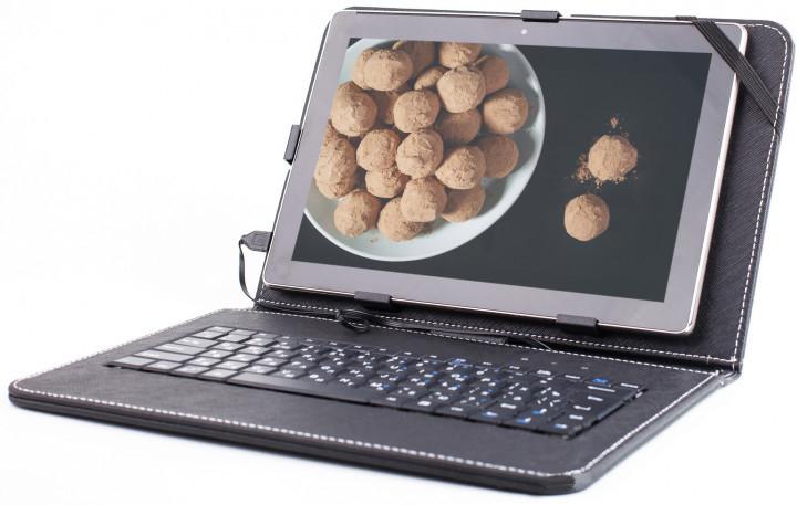 Чехол с русской клавиатурой 10.1 Micro USB