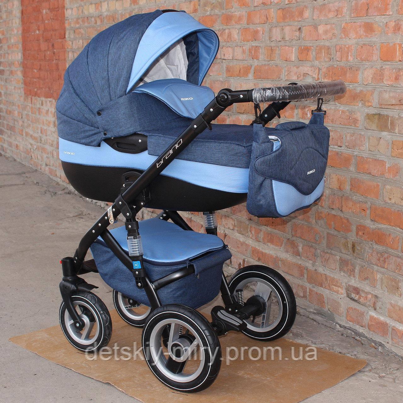 Детская универсальная коляска 2 в 1 Riko Brano - фото 2
