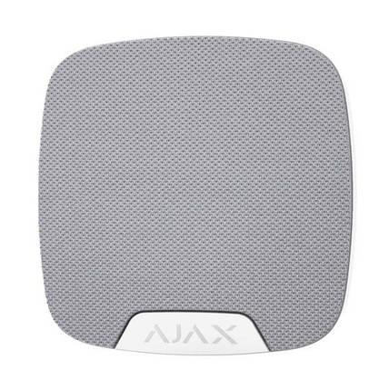 Беспроводная комнатная сирена Ajax HomeSiren white, фото 2