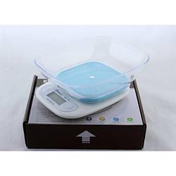 Кухонные весы Domotec Ms-125 до 7 кг с чашей и подсветкой