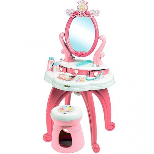 Столик с зеркалом Дисней Принцесса детское трюмо для девочки розовое Smoby 320222