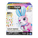Интерактивный кролик Хрумчик Zoomer Hungry Bunnies Shreddy Interactive Robotic Rabbit That Eats Spin Master, фото 9