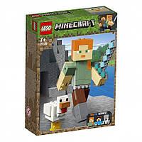 Lego Minecraft Алекс с цыплёнком 21149, фото 1